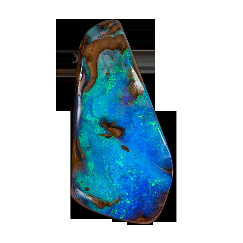 Opal schmuck  Gebohrte Opale