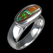 Opalring_Boulderopal_925er Silber_Ringgröße 54_15021720