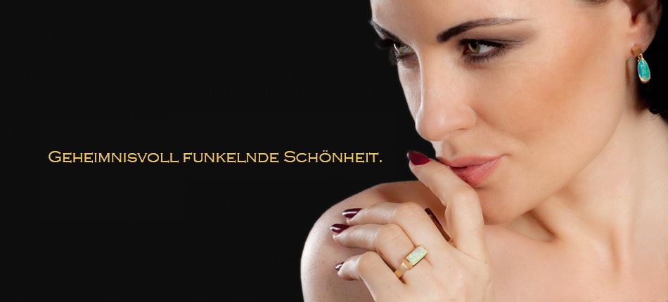 Opalschmuck - Edelstein und Silberschmuck Onlineshop