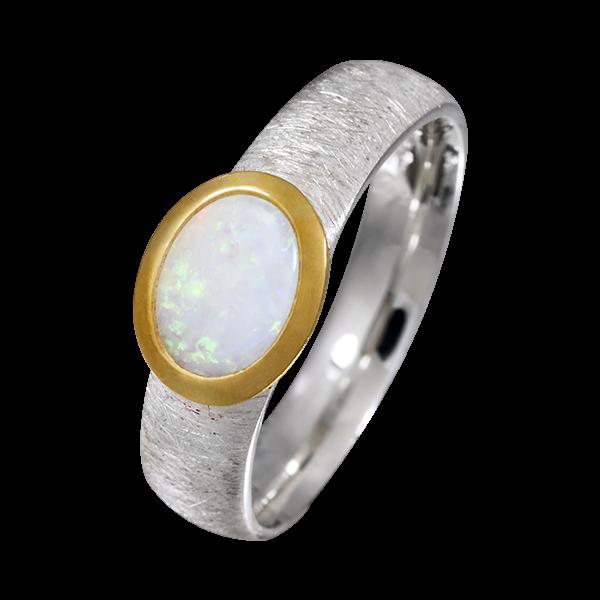 2,66 g edel CP5626 Ring Silber Größe 56 breit schick elegant zeitlos Punze unl