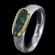Opal_Ring_Edelopal_Dunkelgruen_Silber_Goldbeloetet_Ringgroesse_55_17091137