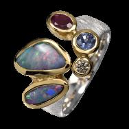 Ring_Boulderopal_Saphir_Rubin_Diamant_Silber_vergoldet_20100137
