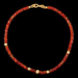 Opal_Steinkette_Feueropal_Orange_Rot_Silber_19030101