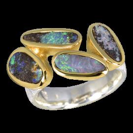 Opalring_Ring_Silber_Vergoldet_Kombi_Boulderopale_19071765