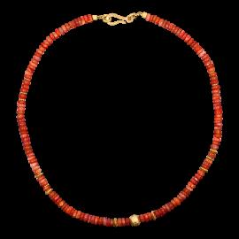 Opal_Steinkette_Feueropal_Orange_Silber_Vergoldet_19030108