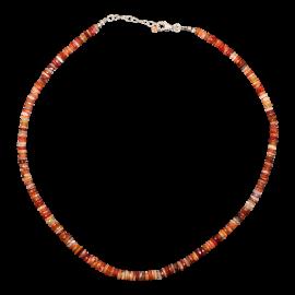 Opal_Steinkette_Feueropal_Orange_Natur_Braun_Silber_19030127