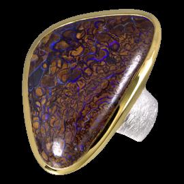 Opal_Ring_Boulderopal_Braun_Ringgroesse_64_silber_vergoldet_19071775