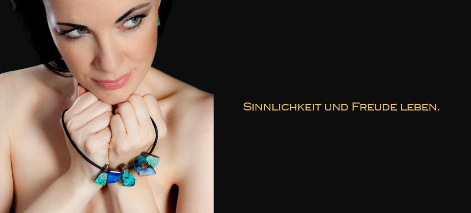 Onlineshop für Schmuck aus Opalen